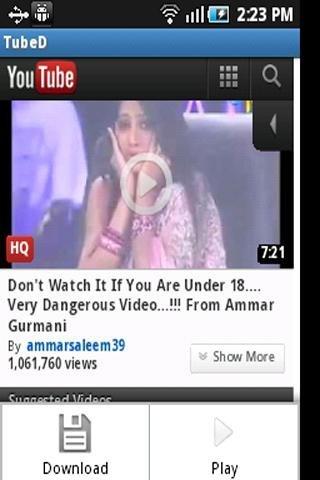 Descarga de vídeo con TubeMate YouTube Downloader