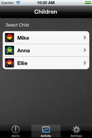 Selección de perfil en Norton para iPhone