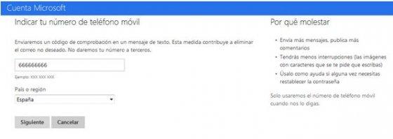 Recuperar cuenta de Hotmail bloqueada - 1