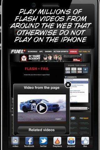 Skyfire para iPhone
