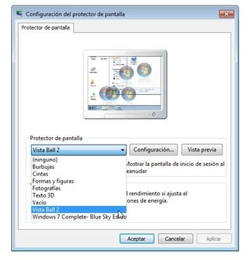 Salvapantallas Windows 7 - 6
