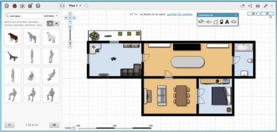 Programa para crear planos for Diseno de oficinas pequenas planos