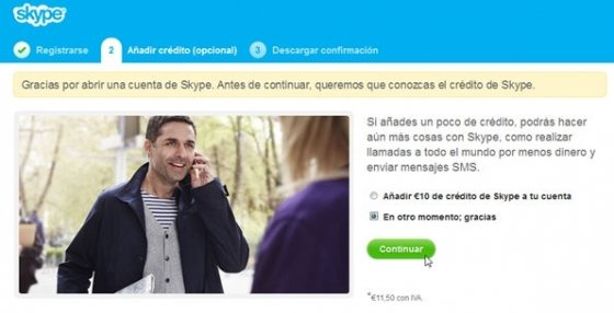 Crear cuenta Skype - 6