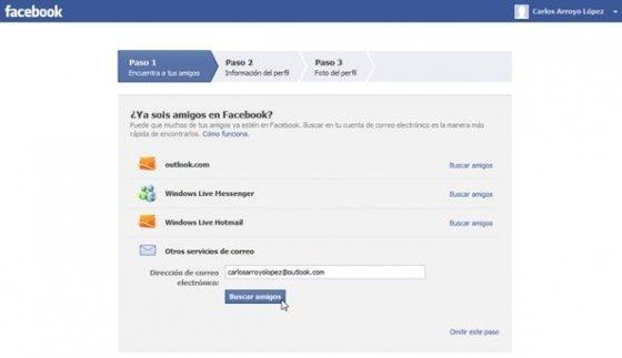 Cómo crear una cuenta en facebook - 2