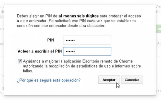 Control remoto con Chrome Remote Desktop - 8