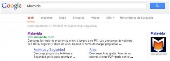 Opciones de búsqueda de Google en su nueva ubicación