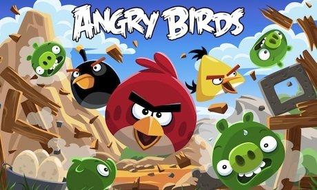 Pantalla de presentación de Angry Birds