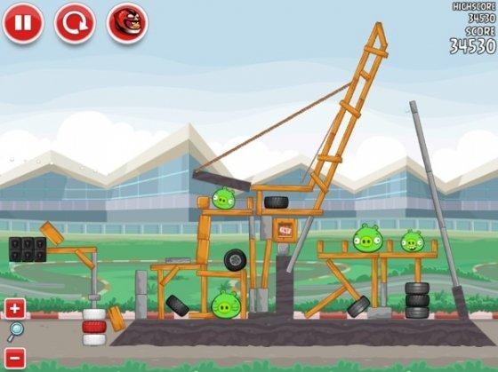 Circuito en Angry Birds Heikki