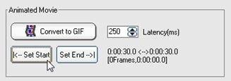 Definir el punto de inicio del nuevo GIF