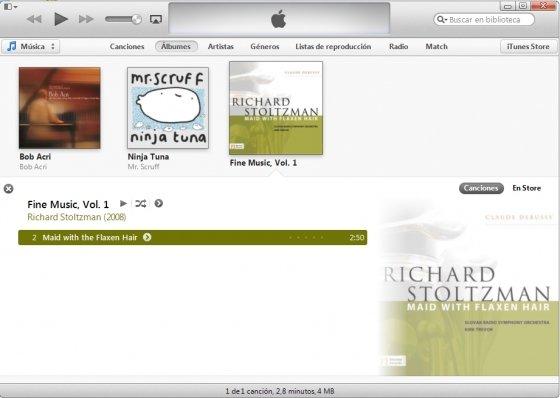 Librería de iTunes 11