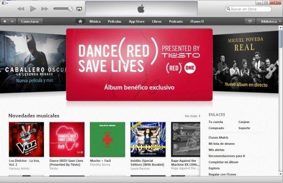 iTunes Store en iTunes 11
