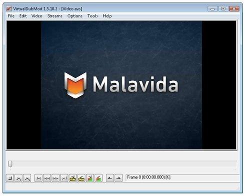 Vídeo MP4 abierto con VirtualDubMod