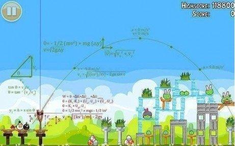 Angry Birds matemáticas