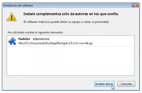 Instalar nueva extensión en Firefox