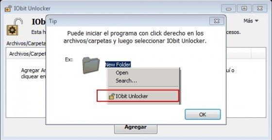Iniciar IObit Unlocker