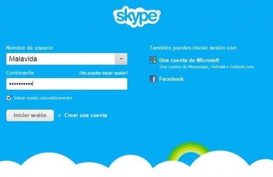 Portada de la nueva versión de Skype