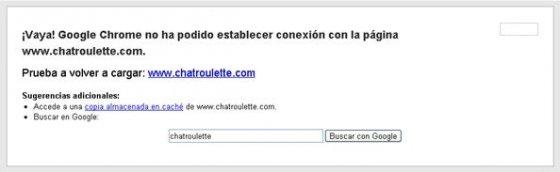 Página web bloqueada con WEBlocker