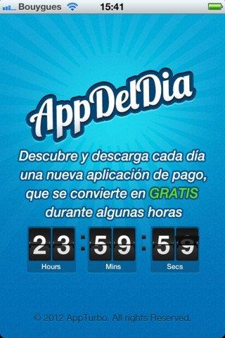 Captura de pantalla de AppDelDia para iPhone