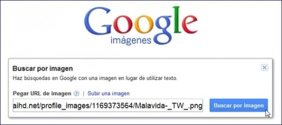 Definir una dirección URL o imagen