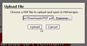 Seleccionar archivo PDF a editar