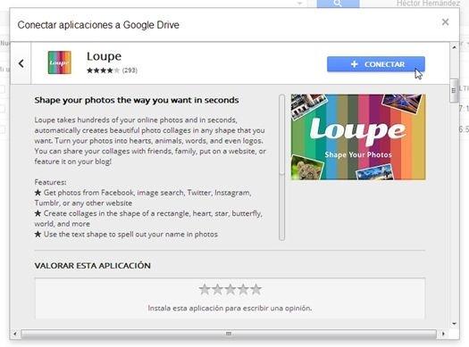 Aplicación para Google Drive explicada junto a fotos y opiniones