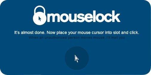 Clic de ratón para activar la detección