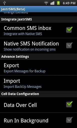 Enviar mensajes gratis con Jaxtr