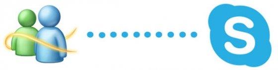 Imagen promocional del paso de Messenger a Skype