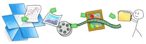 Imagen promocional de Dropbox