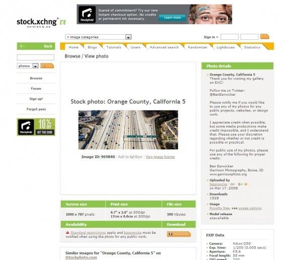 Banco de imágenes gratuito Stock.XCHANGE