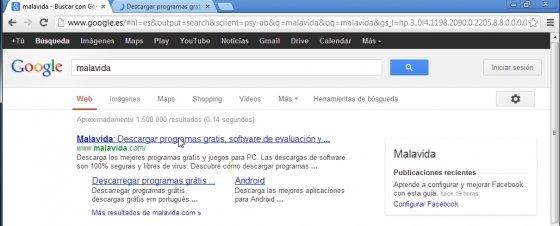 Atajo de teclado para navegación abrir enlace en segundo plano Google Chrome