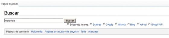 Buscador de Wikipedia