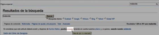 Crear artículo nuevo en Wikipedia