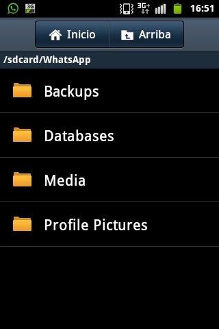 Eliminar archivos de carpetas de WhatsApp en Android