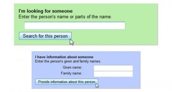 Buscador de personas y editor de información sobre personas