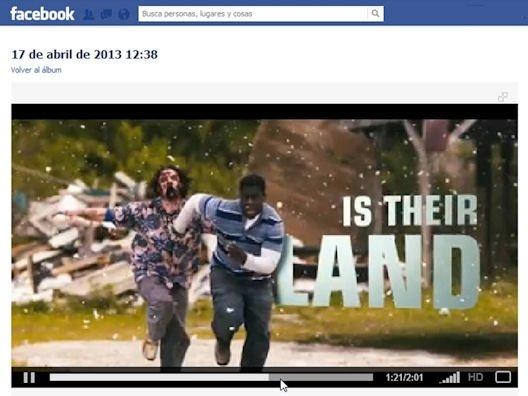 Vídeo subido a Facebook y listo para su reproducción