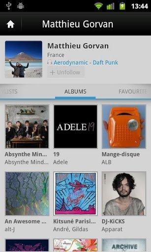 Deezer como alternativa a Spotify en versión Android