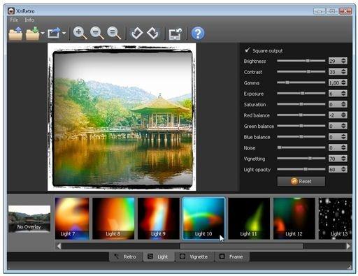 Efecto Light aplicado sobre la imagen
