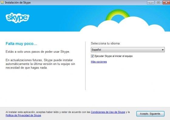 Instalar Skype en Windows