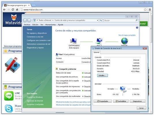 Conexión a Internet en un PC vía tethering con Android