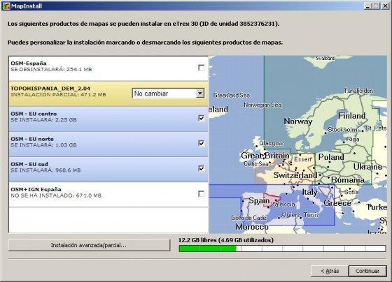 Actualizar mapas de un GPS Garmin con Garmin MapInstall