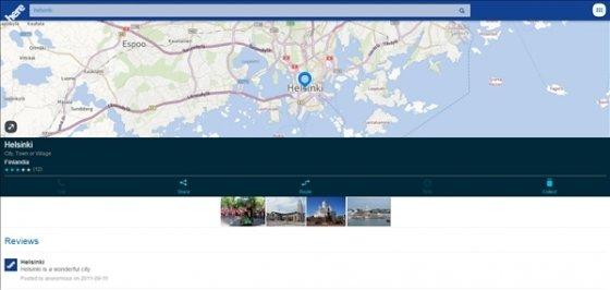 Mapas de Nokia HERE Maps