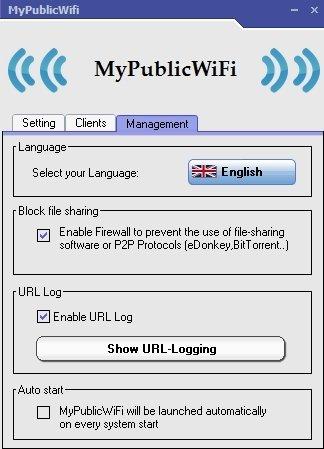 Activar protección firewall de punto de acceso WiFi