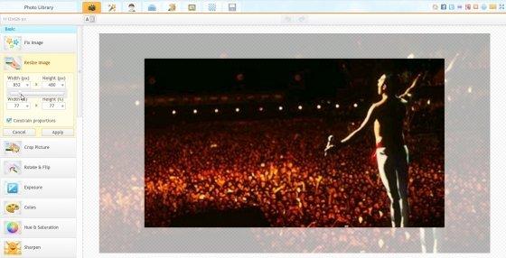 iPiccy es un editor de fotos gratuito fácil de utilizar