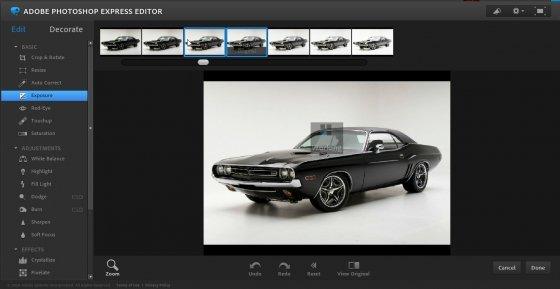 Photoshop Express es uno de los mejores editores online