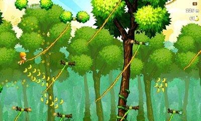 Benji Bananas es un juego de plataformas para Android