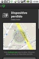Función de localización del dispositivo