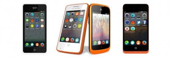 Primeros teléfonos móviles con Firefox OS