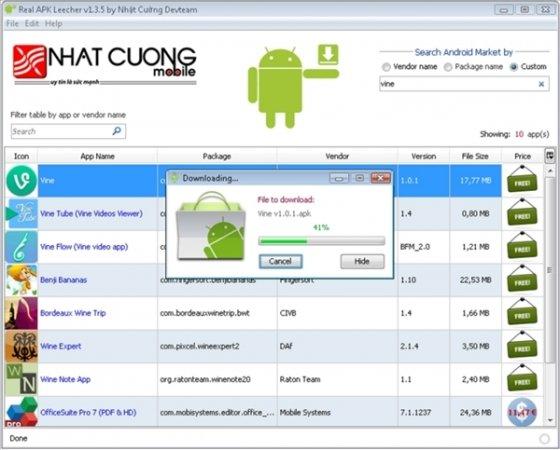 Descargar APK desde Google Play