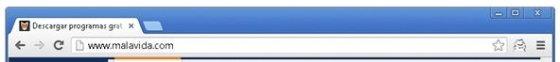 Icono de la extensión en la barra de herramientas